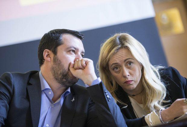 Meloni e Salvini  tra prossime elezioni e scambio di candidature a