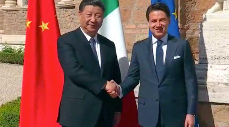 A Villa Madama la firma del memorandum Italia-Cina