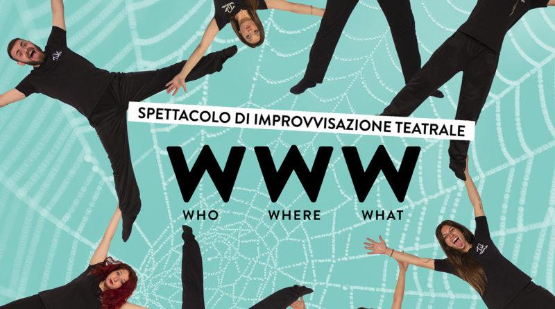 """Dal 28 al 31 marzo a Teatroimpulso l'improvvisazione teatrale """"WWW"""""""
