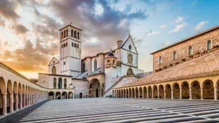 """Assisi set della fiction """"Che Dio ci aiuti"""""""
