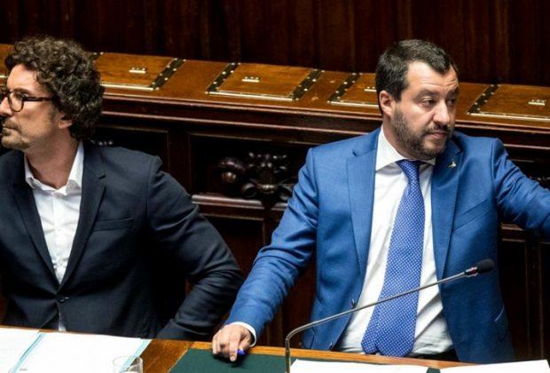Il Senato  salva il ministro Matteo Salvini