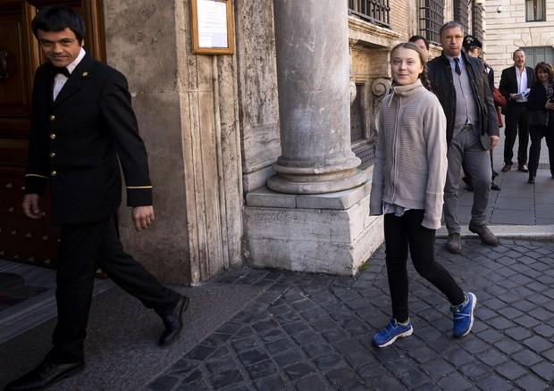 Greta in Senato, Casellati la ringrazia per il coraggio e l'esempio