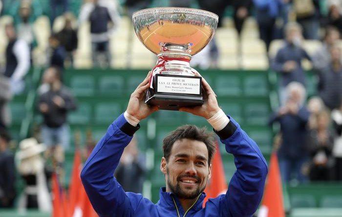 Tennis, Fognini è il nuovo re di Montecarlo: l'azzurro trionfa per 6-3, 6-4 su Lajovic