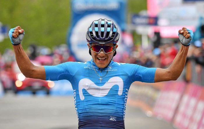 Giro d'Italia: Carapaz vince e si prende la maglia rosa. Nibali non graffia