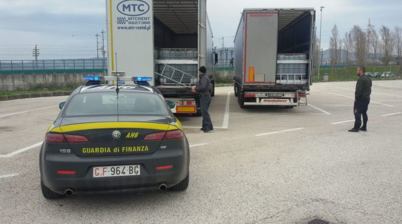 Criminalita': Guardia di Finanza di Milano sequestra 62mila litri di gasolio di contrabbando