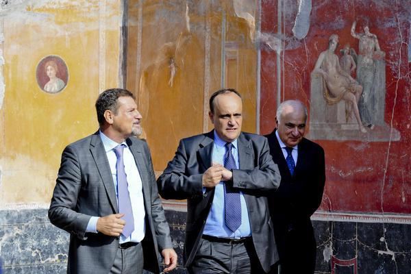 Osanna direttore di Pompei, Quilici dell'Appia Antica
