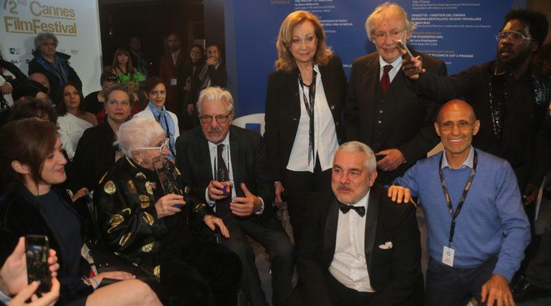 Cannes: Premio Kinéo a Giancarlo Giannini e Lina Wertmuller. Presentata la nuova edizione che si terrà il 1° settembre a Venezia
