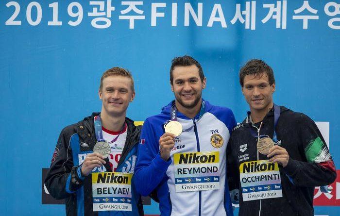 Mondiali di Nuoto: bronzo di Occhipinti nella maratona 25km