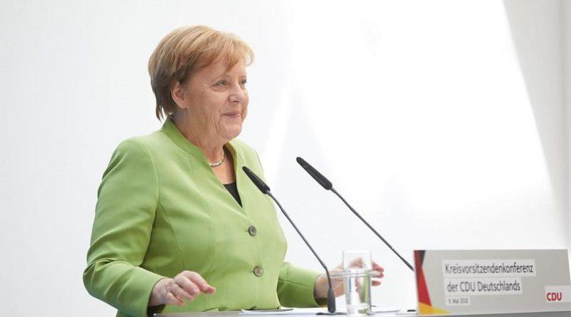 Merkel, complicati negoziati bilancio Ue