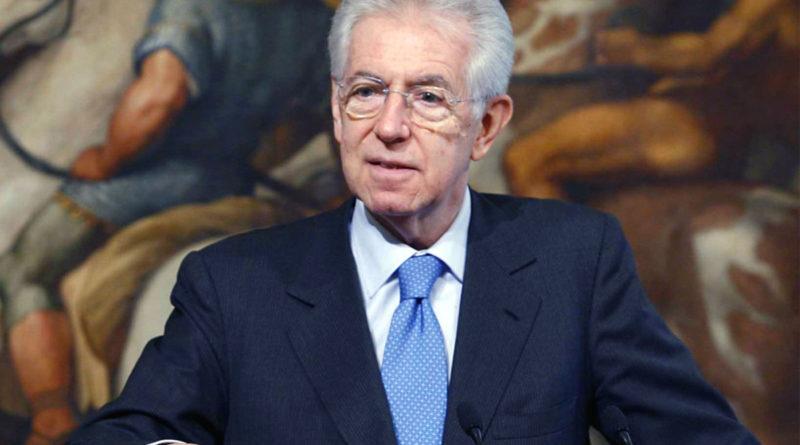"""Governo, Monti: """"Politica estera stravolta"""""""