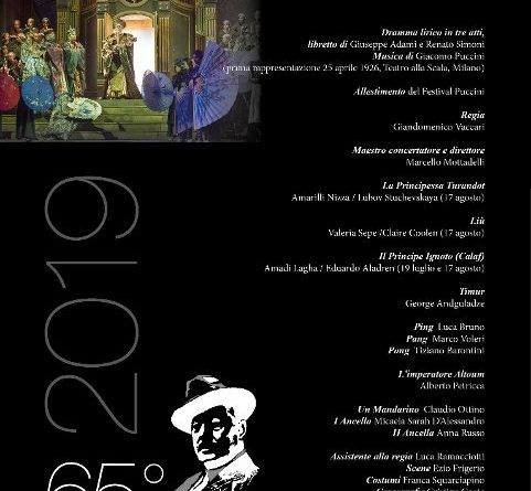 Turandot, al 65° Festival Puccini di Torre del Lago, recensione di Loredana Margheriti