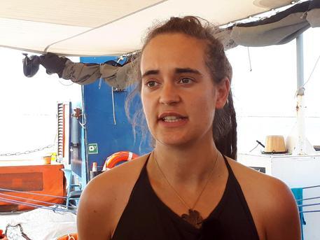 Carola Rackete: 'Pronta a tornare in mare'