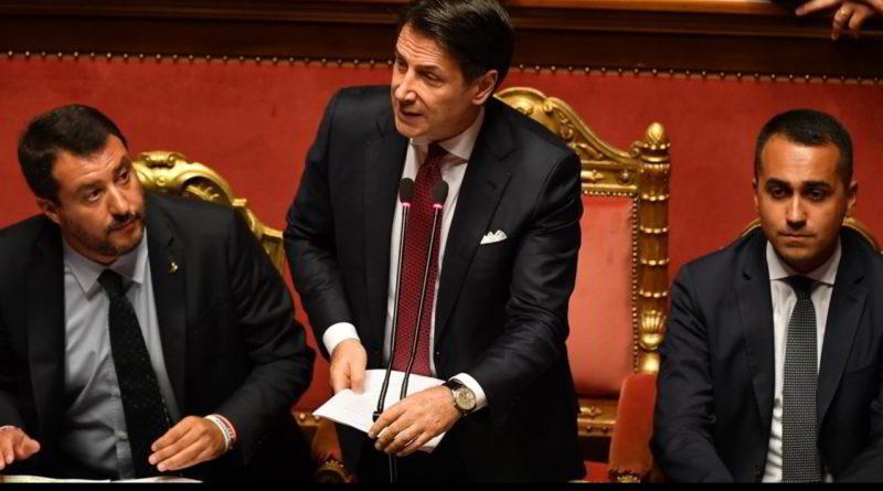 Governo: a palazzo Madama ultimo atto esecutivo Conte, Lega ritira mozione sfiducia