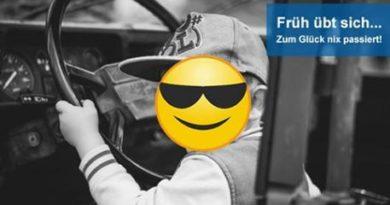 Germania: bimbo di 8 anni torna alla guida ma tampona un tir