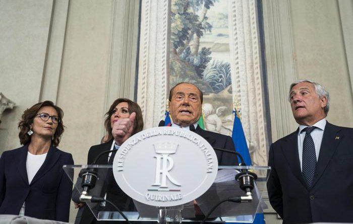 """Consultazioni. Berlusconi: """"Governo di centrodestra o voto"""""""