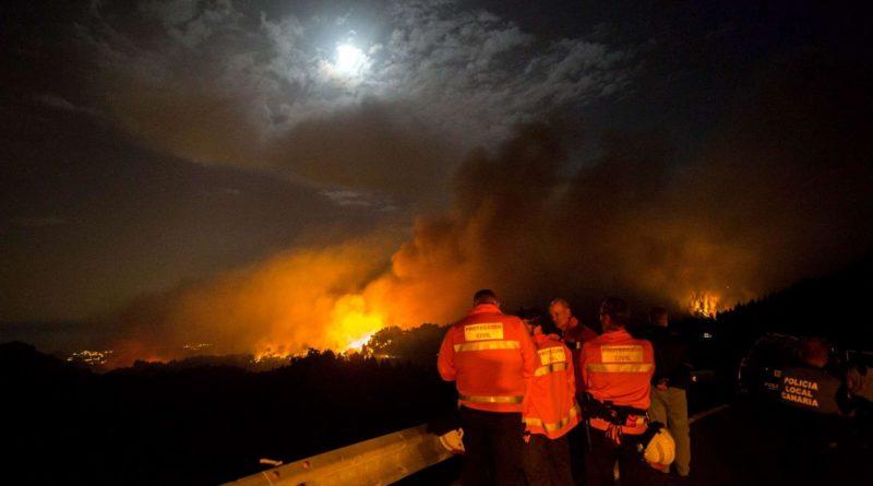 Incendio a Gran Canaria: 8mila persone evacuate