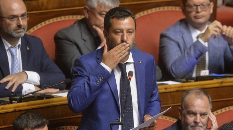 Matteo Salvini, senatore assenteista…