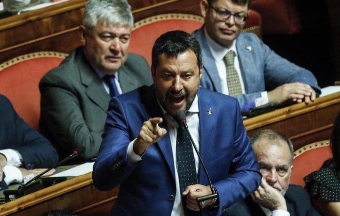 Matteo Salvini tra sondaggi e Conte bis