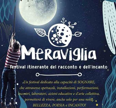"""""""Meraviglia, Festival del racconto e dell'incanto"""", dal 14 al 20 settembre, ad Aci Bonaccorsi, Catania"""