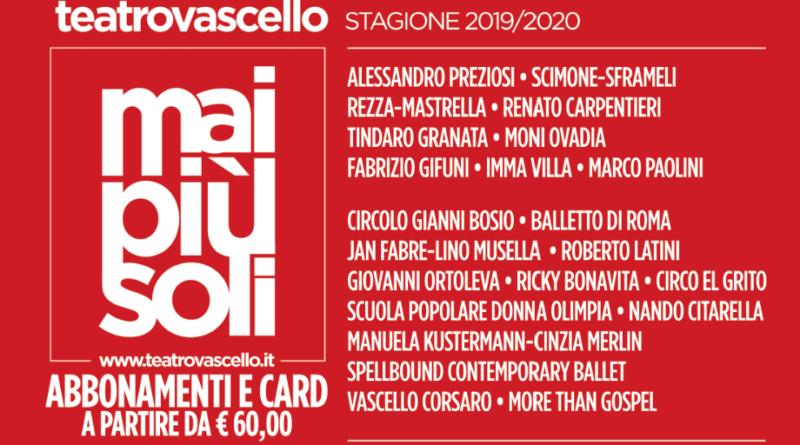 Roma, la Stagione del Teatro Vascello 2019 2020