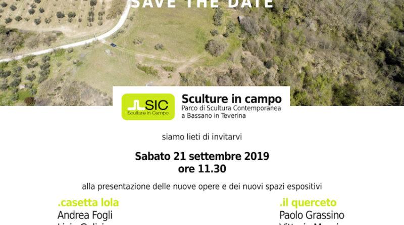 Sculture in campo. Parco di Scultura Contemporanea – III edizione, 21 settembre,  ore 11.30, Casetta Lola e Il Querceto – Bassano in Teverina VT