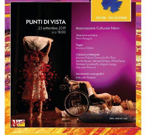 Taormina, all'Odeon 'Punti di Vista',  Compagnia di Nèon il 23 settembre