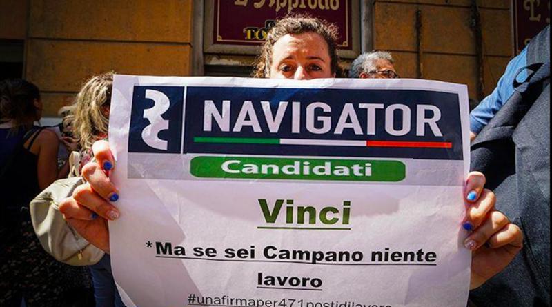 Navigator Campania: tutto da rifare per 471 vincitori di concorso