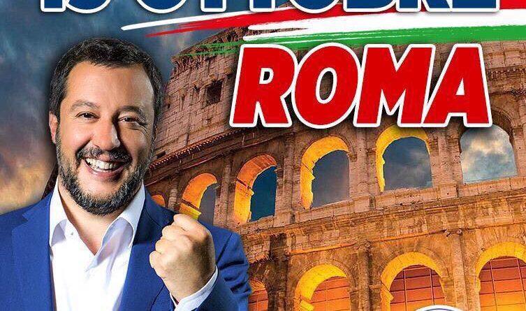 La Lega in piazza in Roma per la 'Giornata dell'Orgoglio'