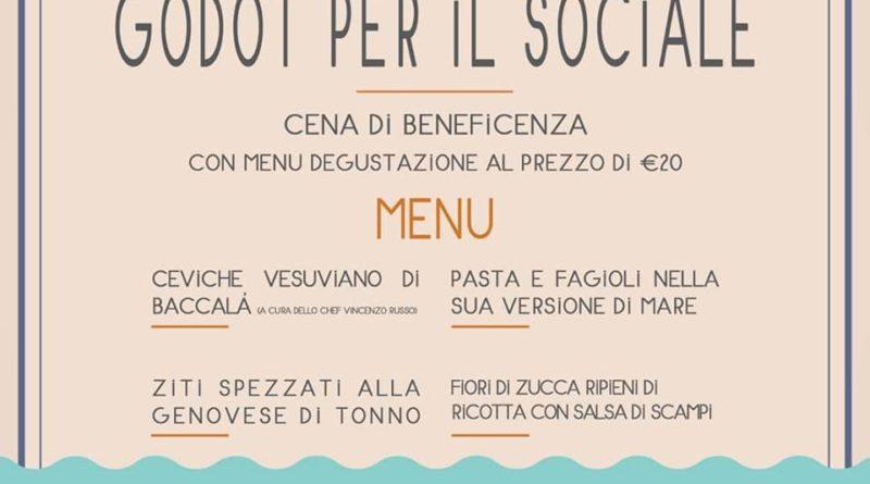 Domenica 27 ottobre, 'Godot per il sociale',  iniziativa benefica a favore dell'Associazione Santobono Pausilipon di Napoli da parte della famiglia Navarro