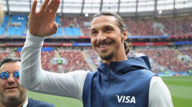 "Ibrahimovic al Napoli. De Laurentiis: ""E' un mio desiderio, dipende da lui"""