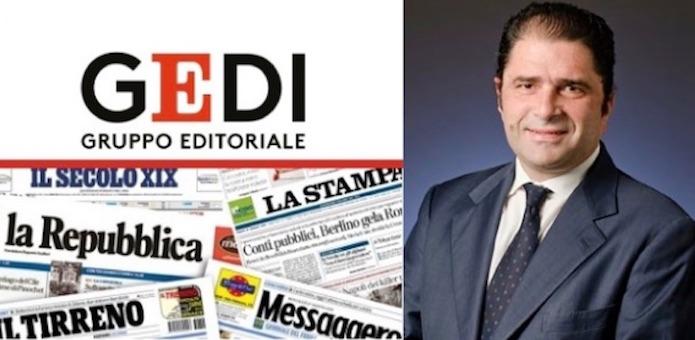 Gruppo Gedi: 2019 in rosso di 18 milioni di euro
