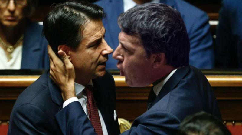 """""""Subito una cura da cavallo"""". """"Sindaco d'Italia e un patto per le riforme"""". Tra Conte e Renzi è guerra di slogan"""