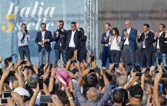 """Festa del M5s, Di Maio: """"Con il Pd no alleanze solo patti civili. Noi avanti altri 10 anni"""""""