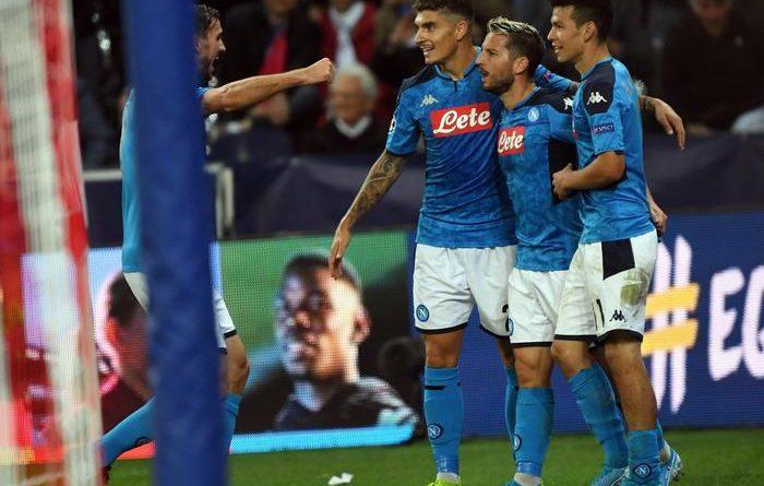 Champions. Il Napoli supera il Salisburgo grazie ad un super Mertens