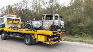 Modena, ritrovato cadavere carbonizzato