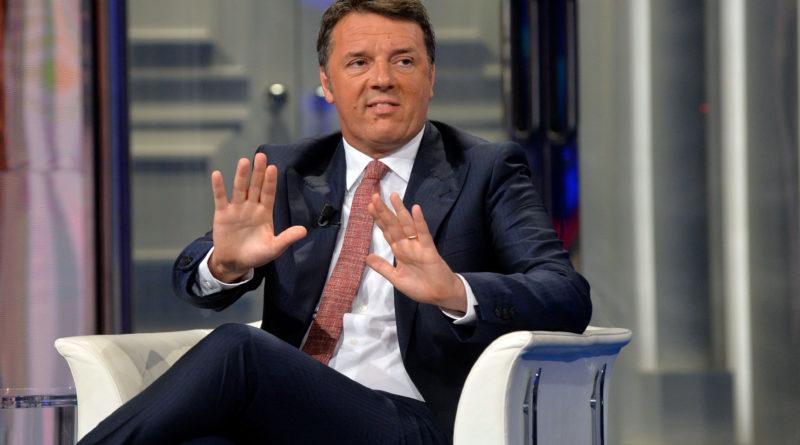 """Renzi da Vespa. """"Sfiducia a Bonafede entro Pasqua. Non morirò grillino"""""""
