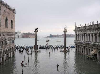È allarme massimo a Venezia, la sirena è suonata 4 volte