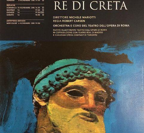 Grande ritorno per l'Idomeneo all'Opera di Roma
