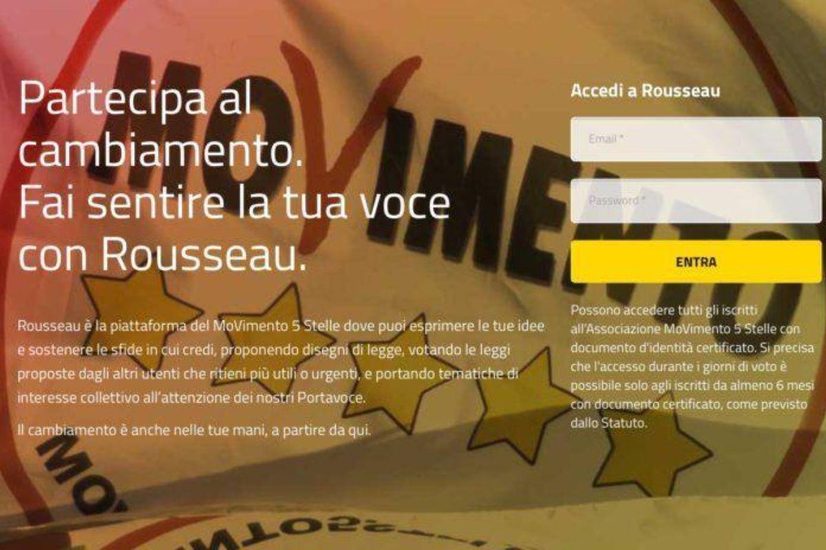 Ultimatum Rousseau a M5s: saldare debiti entro il 22 aprile o percorsi diversi