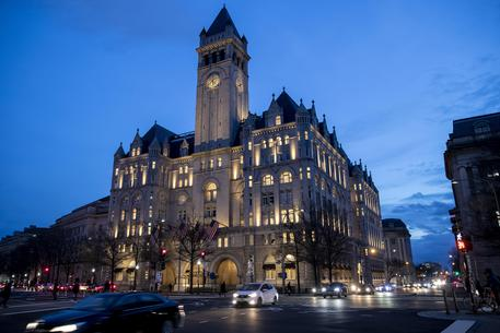 Il Trump Hotel a Washington è semivuoto