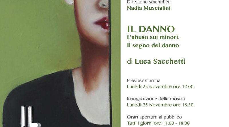 LUCA SACCHETTI – Il Danno | NON si può NON vedere,  25 novembre, ore 18.30,  Chiostro e Sacrestia Chiesa Santa Maria del Carmine – Milano