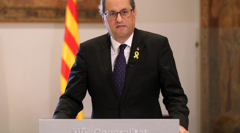 Spagna, oggi processo Torra a Corte superiore giustizia Catalogna