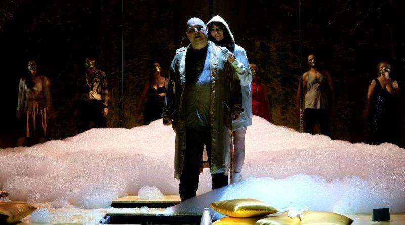 Teatro Argentina di Roma, 21 novembre ● 1 dicembre,  in scena  il'Satyricon'diFrancesco Piccolo, diretto daAndrea De Rosa