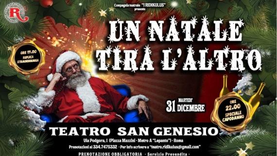 Capodanno per famiglie con i Ridikulus il 31 dicembre alle ore 22 al Teatro San Genesio