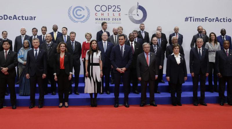 Clima: Cop25 è un flop: nessun accordo, tutto rinviato al 2020