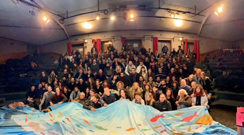 Summit  Sardine a Roma: No a partito ma voteremo a sinistra. Santori: Non volevamo cantare Bella Ciao