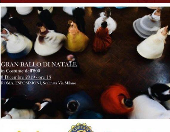 8 dicembre ore 18:00 Palazzo delle Esposizioni_ Daria Baykalova e Pinda Kida protagoniste del Gran Ballo di Natale