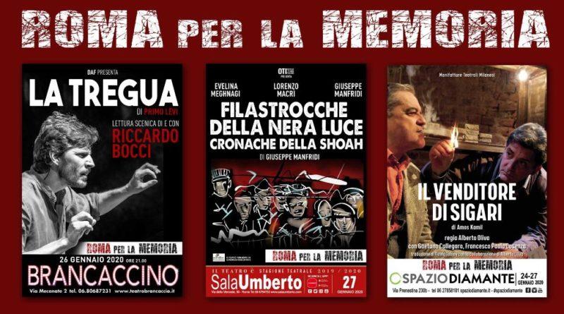 Roma per la Memoria dal 26 gennaio