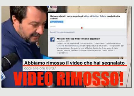 Salvini al citofono: il legale del ragazzo, 'Fb ha rimosso il video'