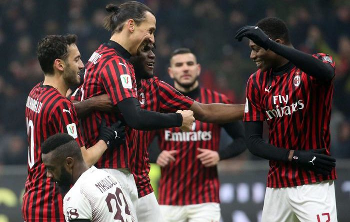 C. Italia. Il Milan ringrazia Calhanoglu e vola in semifinale